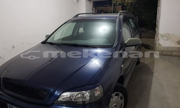 Buy Used Opel Astra Blue Car in Yerevan in Yerevan