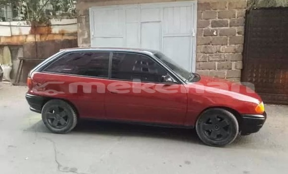 Buy Used Opel Astra Red Car in Yerevan in Yerevan